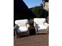 2 x Matching Garden / Conservatory Chairs