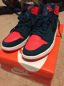 NIKE AIR JORDAN 1 HIGH WESTBROOK SIZE 9 ALMOST DS!