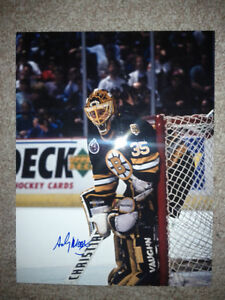 BOSTON BRUINS AUTOGRAPHED PHOTOS AND PUCKS Edmonton Edmonton Area image 9