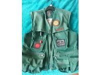 HOUSE OF HARDY INFLATABLE FISHING VEST MEDIUM