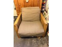 The futon company chair bed