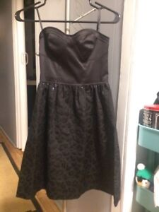 *New price* Strapless black Kenzie dress