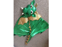 Dragon role play costume 3-6 years