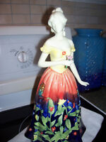 stunning tall and gorgeous lady figurine