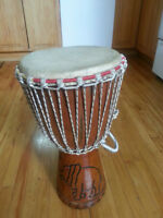African Djembe great sound in perfect condition