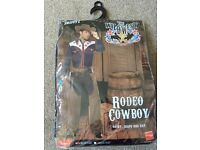 Smiffys Rodeo Cowboy fancy dress costume men's size M