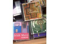 Irish Celtics CDs collection
