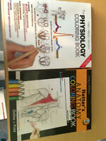 Anatomy & Physiology coloring books