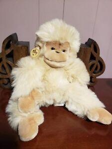 "15"" Vintage RUSS Plush chimp monkey ""MUNGO"" new with tags stuff"