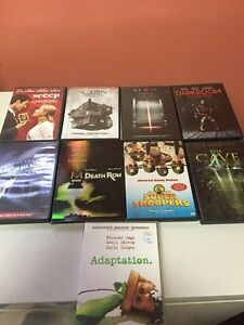 9 dvds-comedy/horror!!