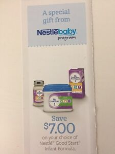 Gerber Good Start Coupons Gerber Good Start, formerly a Nestle product, is a top notch baby formula deserving of your purchase. Gerber has a history with quality baby food and the same can be said for their baby formula.