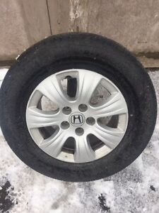 2005-2006 honda odyssey rims and tires