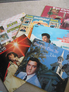 ELVIS LP'S ONLY $5.00 Each including three different CHRISTMAS