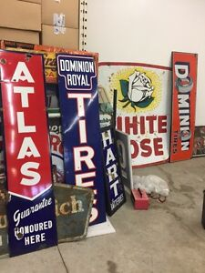 SIGNS ANTIQUES SIGNS 306-717-9678