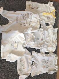 Newborn baby clothes bundle all neutral