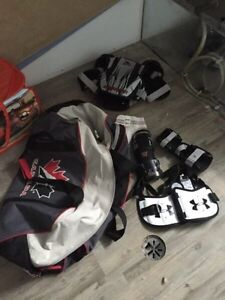 Boys lacrosse equipment