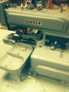 CONSEW MODEL 240 DRAPERY TACKING SEWING MACHINE