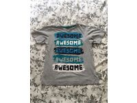 Awesome T-Shirt - 10-11 yrs