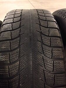 4 Michelin x-ice winter tires R17  West Island Greater Montréal image 4