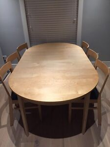 Dining set (table with 6 chairs)