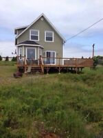Panoramic view. Summer home in Blackhead, CBN, NL