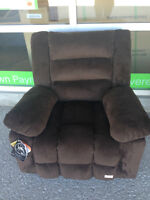 Ashley Brown Micro Fiber Recliner
