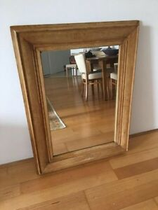 Large antique pine mirror Pyrmont Inner Sydney Preview