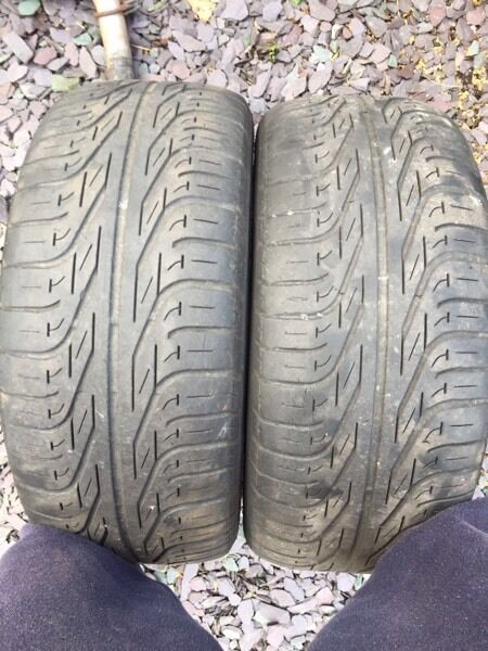 Skid tyres