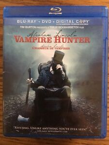 Abraham Lincoln Vampire Hunter Blue Ray London Ontario image 1