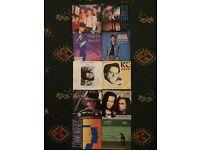 Vinyl singles x10