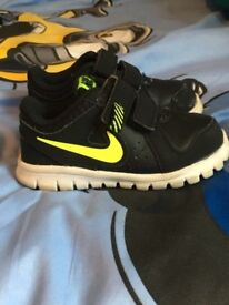 Real nike trainers. Toddler boy or girl
