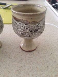 Antique glasses cups