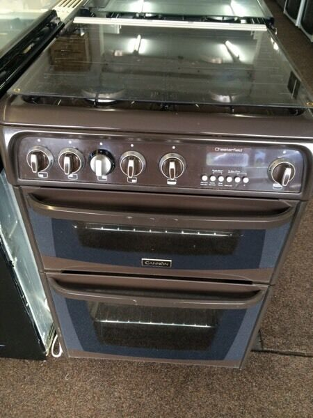 Brown cannon 60cm ceramic hub electric cooker grill & fan oven good condition with guarantee