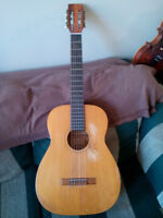 1962 Harmony Classical guitar made in Chicago $200 or trade