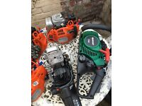 Chainsaw engines