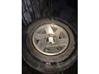 5 Mitsubishi L200 wheels and tyres