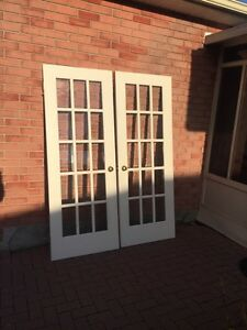 French Doors $50 SOLD!