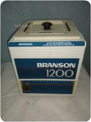 BRANSONIC 1200  ULTRASONIC CLEANER ! (236532)
