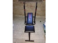 York fitness folding weight bench