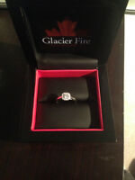 Glacier Fire Canadian Diamond Engagment Ring