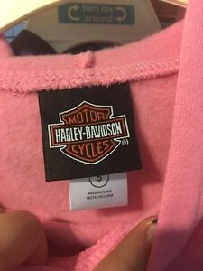 Child's authentic Harley Davidson sweater.. one of a kind! London Ontario image 3