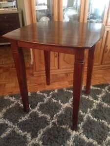 Tall standing table for breakfast nook or home bar