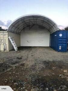 W6m x L6m x H2m Easy to Install COMMERCIAL GRADE Container Dome