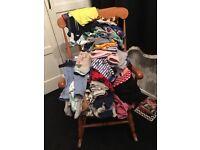 Job lot of baby boy clothes