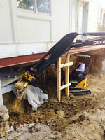 Mini Excavators for hire 2 sizes $80 & $85 an hr 7 days a week