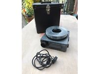 Kodak Carousel projector complete and case