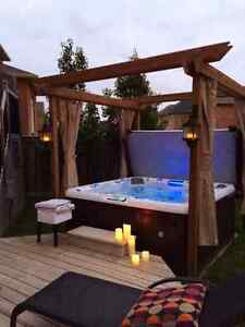 Refurbished Hot tubs with Professional delivery and garentee
