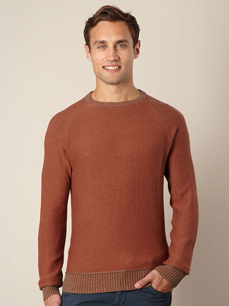 Men's Solid-Colour Jumpers