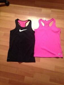 Girls sport tank tops