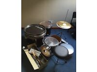 Nevada 5 piece drum kit with cymbals & stool (new, not used)
